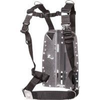 Stainless Steel Backplate Deluxe Harness