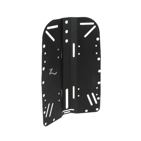 Black Aluminum Backplate