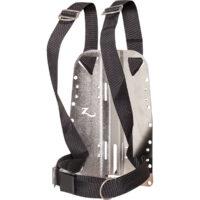 Stainless Steel Backplate Standard Harness